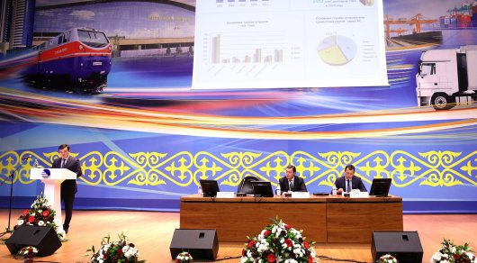 Nazarbayev instructed to increase the efficiency of logistics in the Republic of Kazakhstan